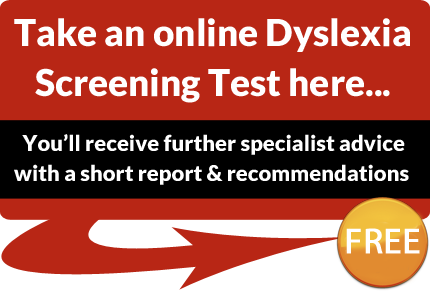 now adults dyslexia test Take for